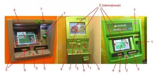 Внешний вид банкомата
