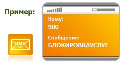 Блокировка услуг мобильного банка