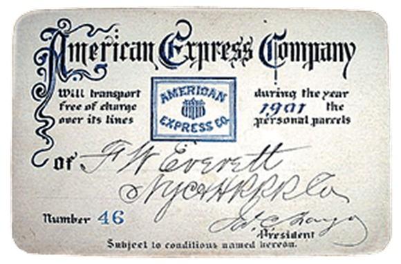 American Express 1901
