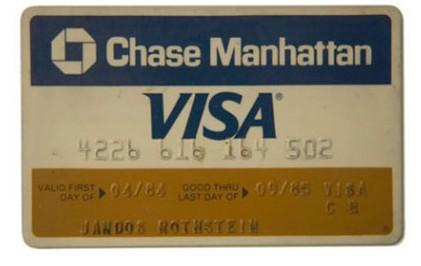 Chase Visa Card, 1984
